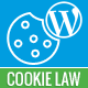 Cookie law notification consent required by the law of European Union wordpress plugin