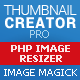 Thumbnail creator and image resizer php script (based on Image Magick)